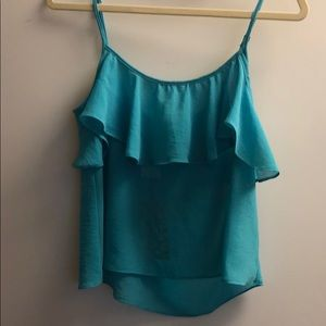 NWT show me your mumu turquoise tank